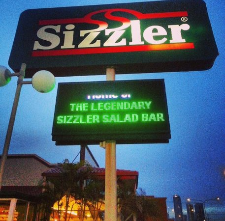 Sizzler Mermaid Beach: Outside