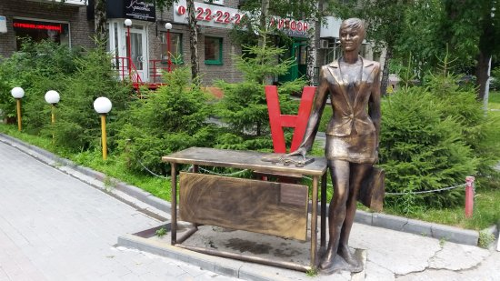 Sculpture Business Woman