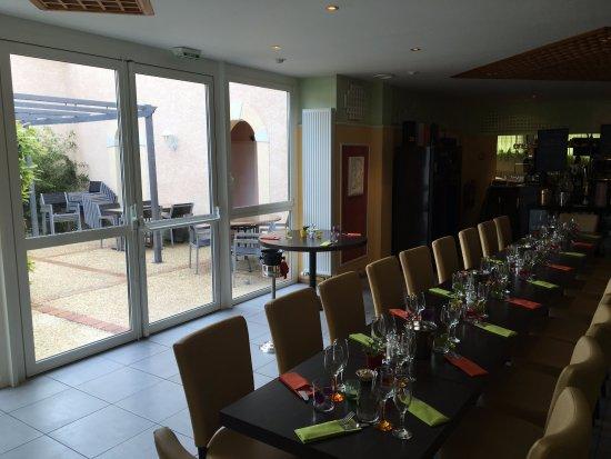 Ambonnay, Prancis: la sala interna