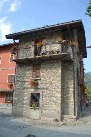 La Griglia H: our room was that one on top with the balcony