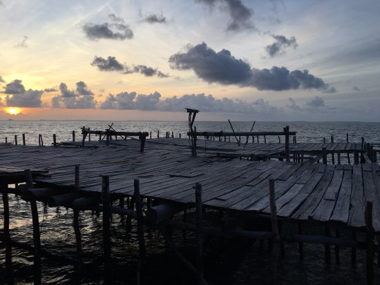 Riau Islands Province, Indonesien: Fishing Deck