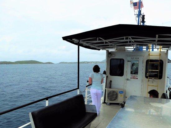 Virgin Islands Ferry - Red Hook: Nice view