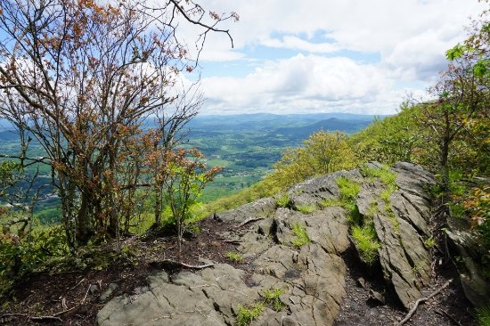 Jefferson, North Carolina: Luther Rock at Mount Jefferson State Park