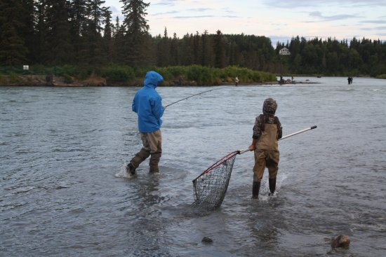 Chugach Backcountry Fishing - Day Trips: Brothers on the river