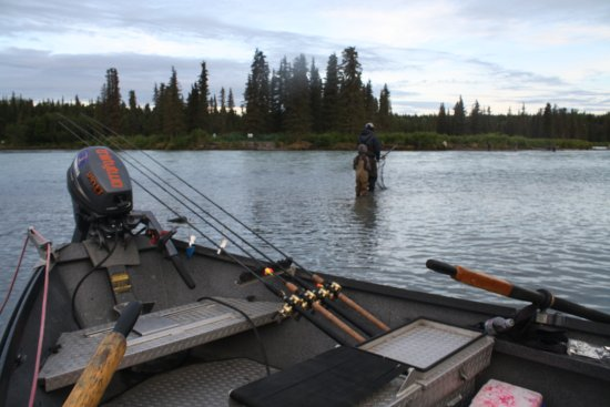 Chugach Backcountry Fishing - Day Trips: Kasilof River