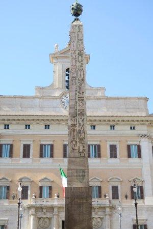 Front mitobelisk im vordergrund foto di palazzo madama for Senato della repubblica sede