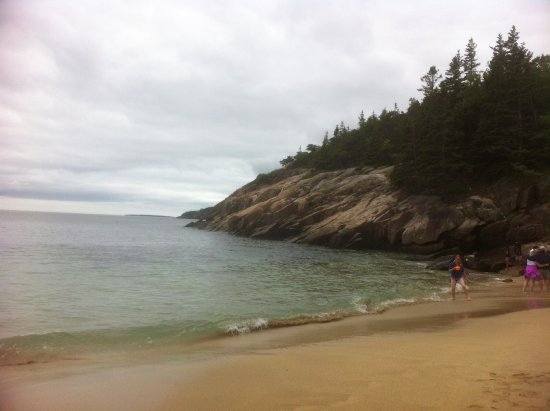 Prospect Harbor, ME: The beach at the Inn