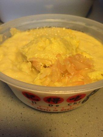 Yummy durian dessert!