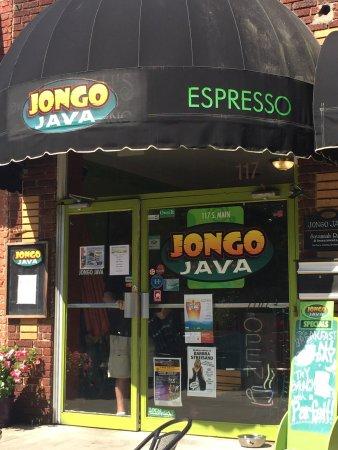 Jongo Java: Great for having a relaxing coffee outside