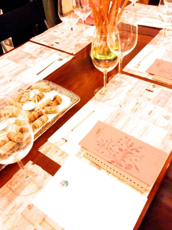 Gourmet B&B Villa Landucci: Wine tasting