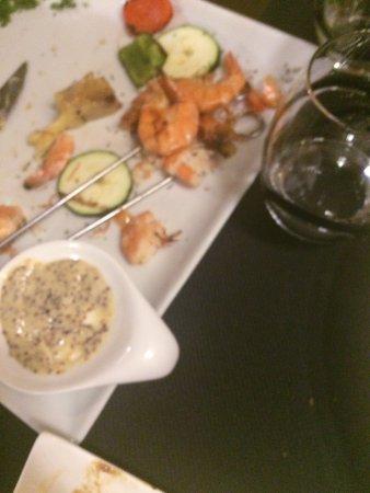 Le Grandgousier : Crevettes caoutchouteuses sauce froide