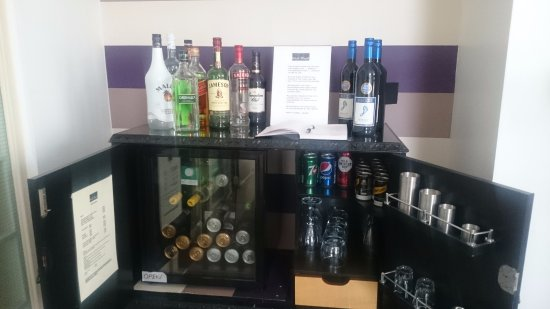 No. 17 West Street: honesty bar with a good selection of drinks