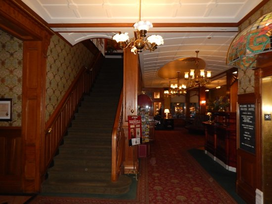 Strater Hotel: View inside the lobby.