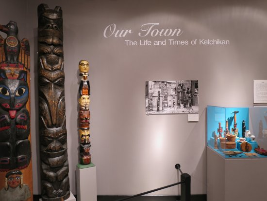 Tongass Historical Museum: Museum