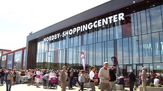 ‪Nordby Shoppingcenter‬