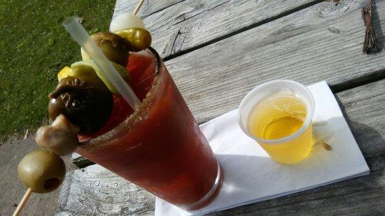 Baileys Harbor, WI: Bloody Mary