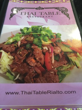 Rialto, Калифорния: Tantalizing Thai