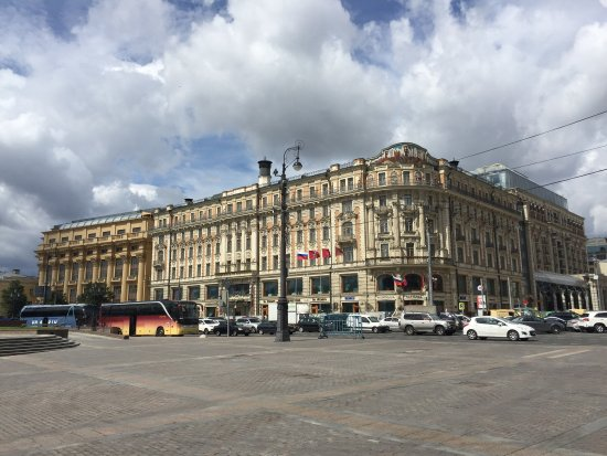 A truly iconic hotel at the center of historic Moscow