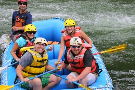 Gallatin Gateway, MT: Montana Whitewater Raft Company