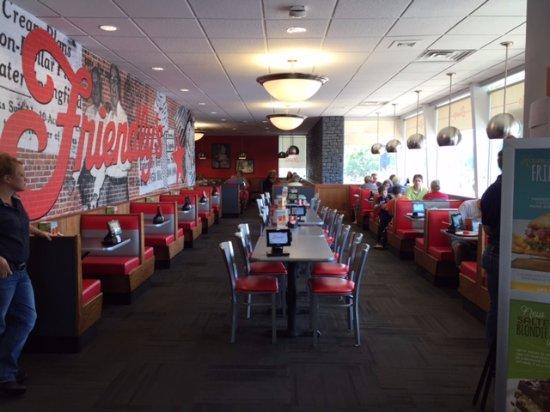 Friendly's: Inside Restaurant