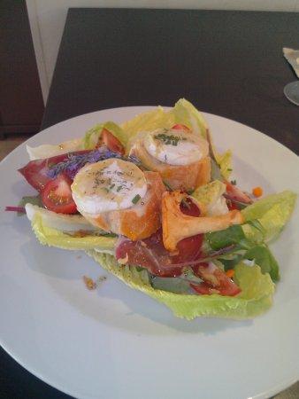 Saint-Affrique, Francia: Salade chèvre