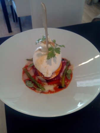 Saint-Affrique, Francia: Burrata