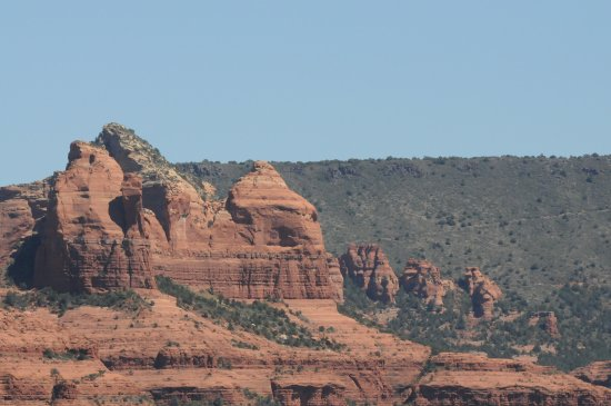 Las Posadas of Sedona: View from airport rock