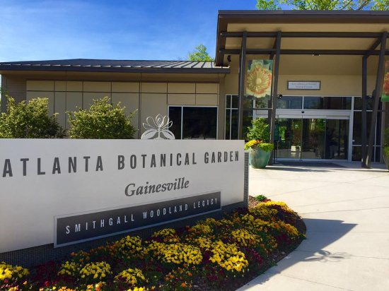 The Kay And Douglas Ivester Visitor Center Picture Of Atlanta Botanical Garden Gainesville