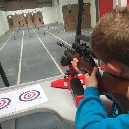photo0 jpg - Picture of OnTarget - Indoor Air Rifle Range