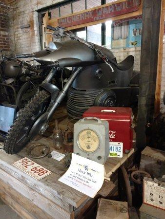 Seaba Station Motorcycle Museum : Captain America