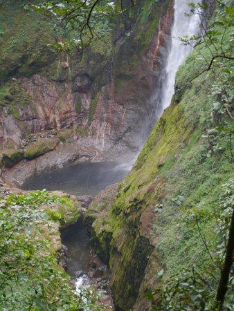 Bajos del Toro, Costa Rica: Abfluss