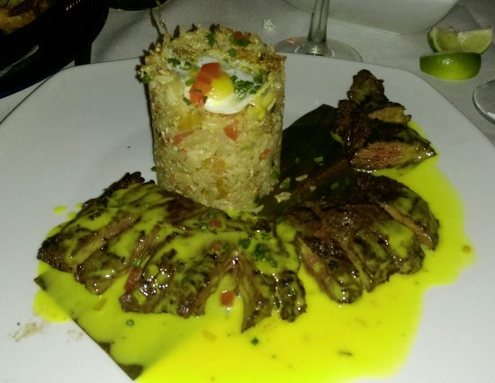 Sonora Restaurant: Cuban skirt steak