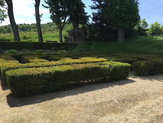 Verzenay, Francia: giardino del faro