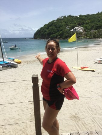 Cap Estate, St. Lucia: Awesome beach and white sand