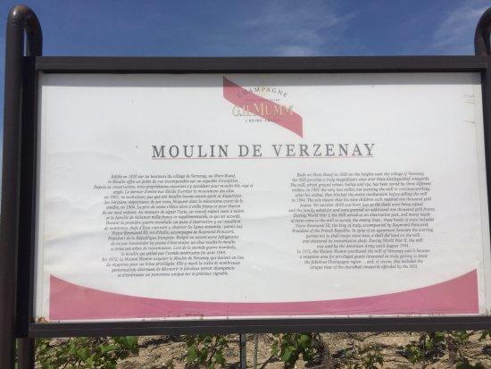Verzenay, Francia: il mulino