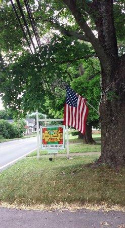Catawissa, Pensilvania: Entrance