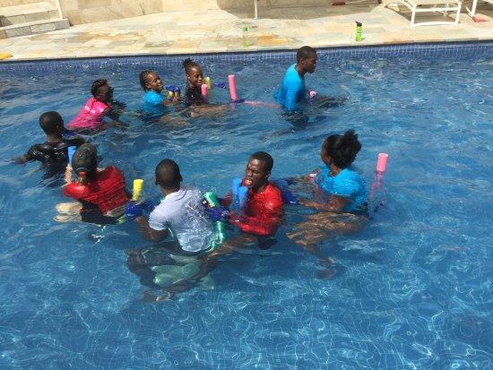Cap Estate, St. Lucia: Conga Line Aquafit Fun