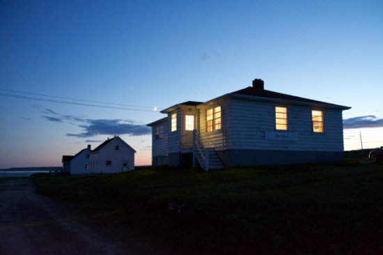 Forteau, Canadá: Max's House at sunset