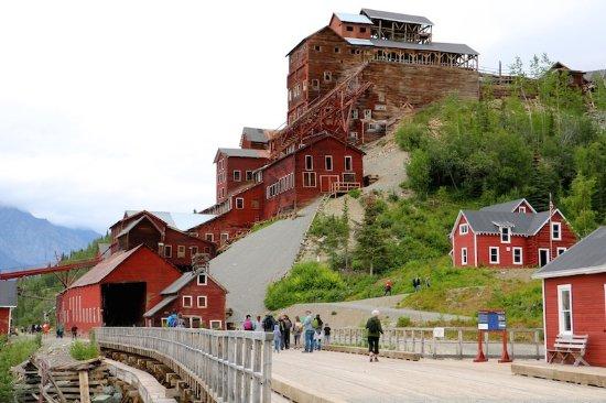 Wrangell-St Elias National Park and Preserve, AK: Mine buildings