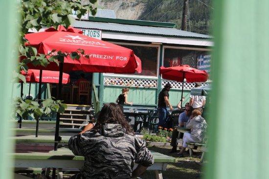 Sourdough Joe's : Patio area