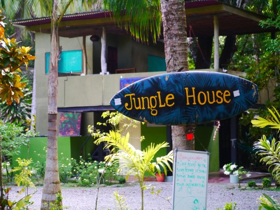 Playa Matapalo, Коста-Рика: Eingang