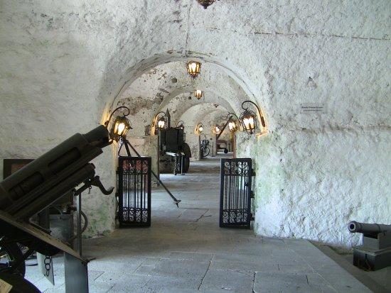 Forte de S. Bras: Billede fra museet