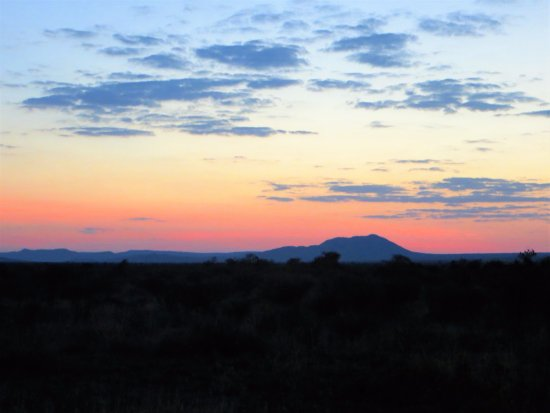 Impodimo Game Lodge: Sunset in Madikwe