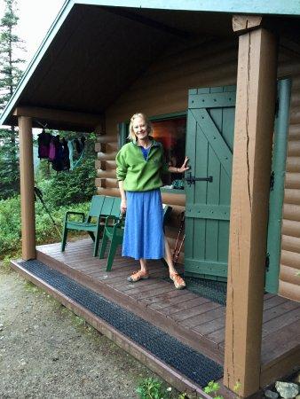Camp Denali Cabin At Dawn!