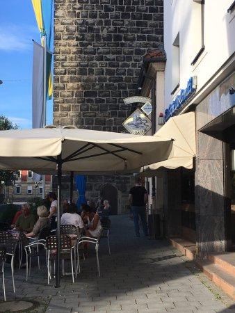 Lichtenfels, Tyskland: Außenbereich  und Straßenverkauf
