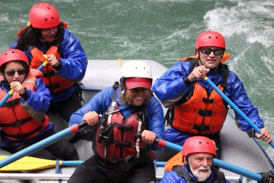 Canyon Raft Company: Blair enjoying his job