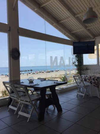 Alcaidesa, Spanien: Vista del restaurante