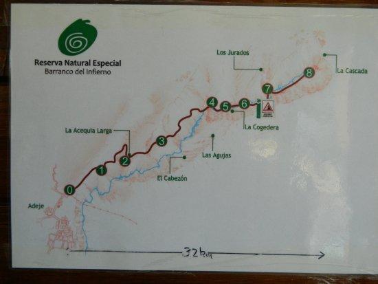Costa Adeje, España: mapa