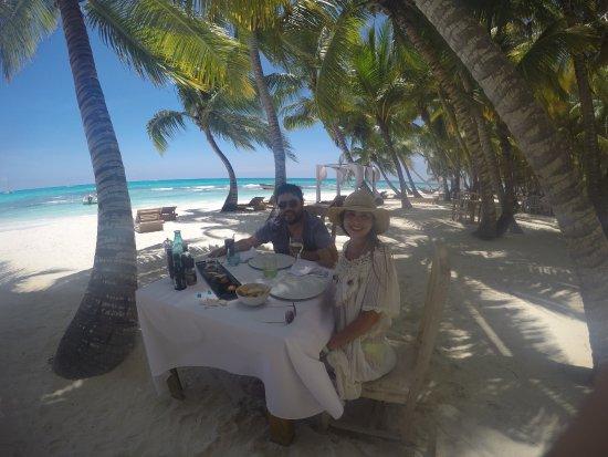 Bayahibe, República Dominicana: Almuerzo en beach club
