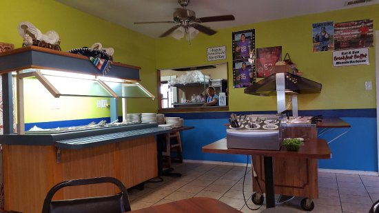 San Benito, TX: Omelets, eggs any style and pancakes cooked to order, included in buffet.